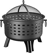 LCRACK BBQ Grill, Campfire Brazier Humanize