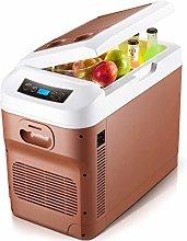LCRAKON Car Fridge Freezer Electric Cool Box 12v
