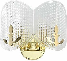 LCSD Wall Lights Golden Glass Creative Personality