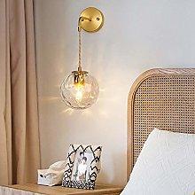LCSD Wall Lights Nordic Bedroom Bedside Lamp Aisle