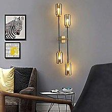 LCSD Wall Lights Nordic Living Room Glass Wall