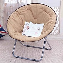 LCTZDY Chair Large Adult Moon Chair Sun Chair Lazy