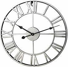 LDB SHOP 23.6 Inch/60 CM Vintage Silent Wall Clock