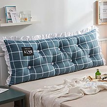 LDDLDG Double Bedside Triangle Cushion Daybed