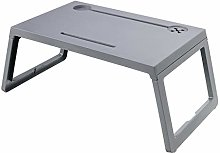 Ldfzq Portable Bed Table, Foldable Computer Table,