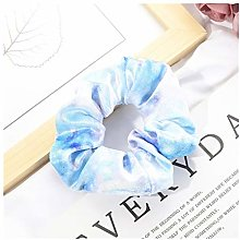 LDGR Fashion Tie Dyed Velvet Women Hair Scrunchies