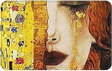 LDHHZ Golden Tears Welcome Door Mat Indoor Outdoor