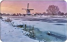 LDHHZ Landscape with A Traditional Windmill