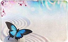 LDHHZ Zen Design Butterfly Welcome Door Mat Indoor