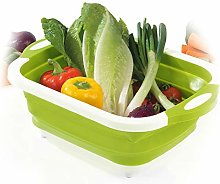 LDJ Multifunctional Folding Chopping Board