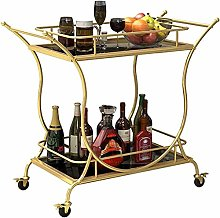 LDL Wine Cart-Kitchen Trolley, Utility Dining Bar