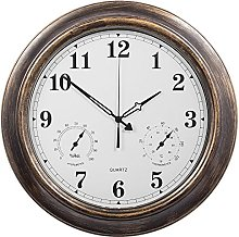 ldyy Home 18 Inch Large Outdoor Wall Clock