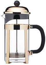 Le'Xpress Brass Finish Stainless Steel 8-Cup
