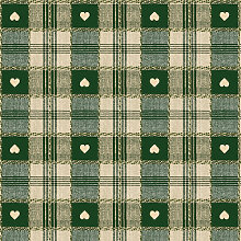 Le Chateau Oil Cloth Table Linen Per Metre Green