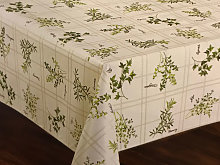 Le Chateau Oil Cloth Table Linen Per Metre Herbs