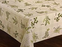 Le Chateau Oil Cloth Table Linen Per Metre Herbs