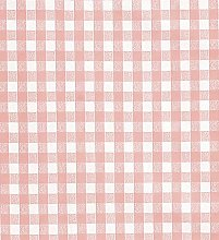 Le Chateau Oil Cloth Table Linen Per Metre Rose
