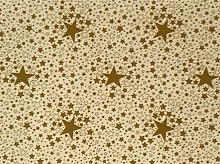Le Chateau Oil Cloth Table Linen Per Metre Stars