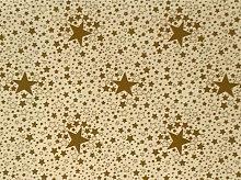 Le Chateau Oil Cloth Table Linen Per Metre Stars