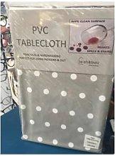 Le Chateau - PVC Tablecloth Spot Grey