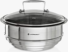 Le Creuset 3-Ply Stainless Steel Multi-Steamer