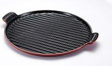 Le Creuset Enamelled Cast Iron Giant Round Grill,