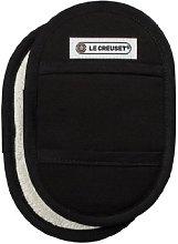 LE CREUSET Pot Holder, Textile, Black, One Size