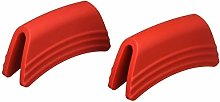 Le Creuset Side Handle Grips, Set of 2, Silicone,
