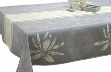 Le linge de Jules - Anti-Stain Tablecloth Lotus