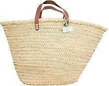 Le Papillon Vert French Style Shopping Basket -