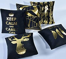 Le yi Wang You Gold Stamping Soft Solid Decorative