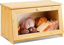 Leader Accessories Bamboo Bread Bin Small Bread