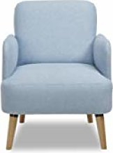 Leader Lifestyle Accent Chair, Fabric, Powder