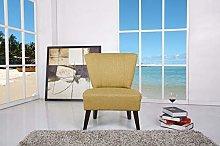 Leader Lifestyle Accent Chair, Wood, Lemongrass