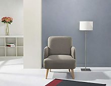 Leader Lifestyle Accent, Fabric, Brown, Chair
