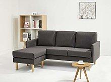 Leader Lifestyle Corner, Dark Grey, Sofa