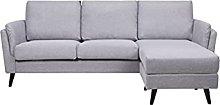 Leader Lifestyle Corner, Light Grey, Sofa