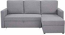Leader Lifestyle Corner, Peppered Grey, Main Sofa
