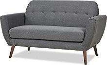 Leader Lifestyle, Dark Grey, Sofa Dimensions: W147