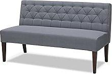 Leader Lifestyle, Medium Grey, Sofa Dimensions: