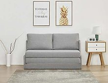 Leader Lifestyle Sofabed, Fabric, Peppered Grey,