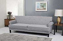 Leader Lifestyle Sofabed, Light Grey, Sofa