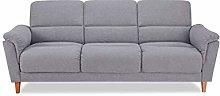 Leader Lifestyle Sofabed, Light Grey, Sofa-W224 x