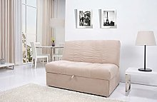 Leader Lifestyle Sofabed, Polyester, Brown,