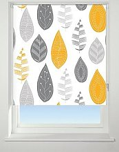 Leaf Blackout Roller Blind