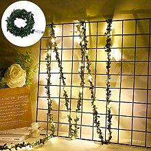 Leaf Garland Holiday USB Lamp LED String Lights