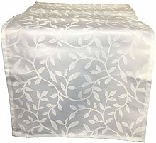 Leaf Pattern Table Runner Dining Kitchen Linen