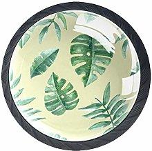 Leaf Tropical Knobs for Dresser Drawers Decorative