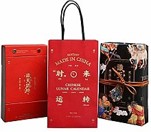 Leaixiang Chinese 2021 Desk Calander 2021 Monthly