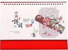 Leaixiang Chinese Desk Calanders 2021 Calendar